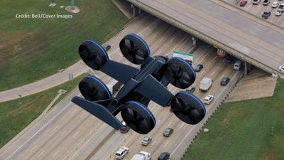 Uber-Like Flying Taxi Unveiled