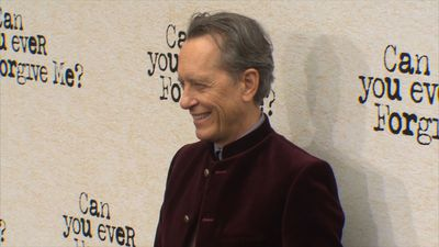 Richard E. Grant found the sweet smell of success on film set