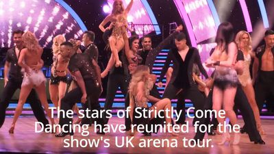 Strictly stars reunite ahead of UK arena tour