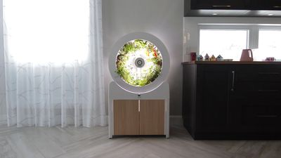Rotating Indoor Garden Lets You Grow Your Own Herbs And Veg At Home