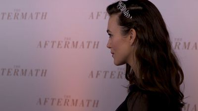 Keira Knightley: The Aftermath's message of building bridges still relevant today