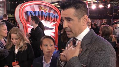 Colin Farrell and Finley Hobbins discuss Tim Burton's movies throughout the years