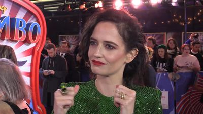Eva Green on working with Tim Burton for the third time