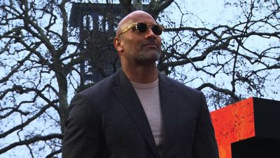 Dwayne Johnson back on set after being forced to stop due to sickness