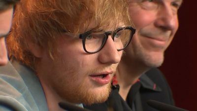 Ed Sheeran believes that 'being weird' made him more memorable