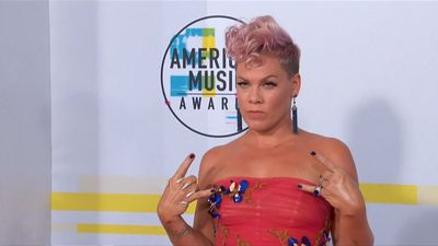 Pink slams online trolls over son's picture