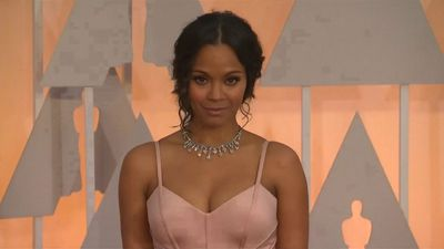 Zoe Saldana's own mother confuses her with Thandie Newton