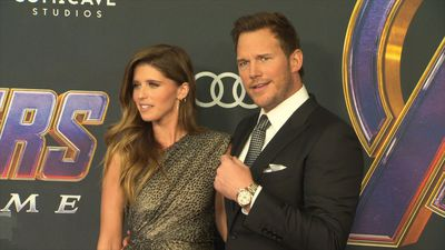 Chris Pratt makes red carpet debut with fiancee Katherine Schwarzenegger