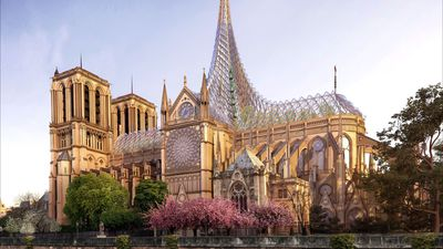 Design For Rebuild Of Notre-Dame Cathedral Unveiled