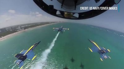 U.S. Navy Blue Angels: Jaw-dropping Inside Cockpit Footage