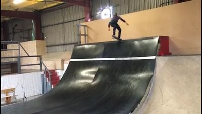 Master of the half-pipe