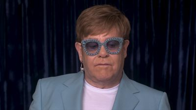 Being a performer saved Elton John's life