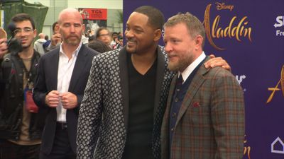 Guy Ritchie's sobbing earned him new nickname on 'Aladdin' set