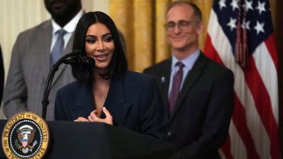 Kim Kardashian returns to White House to unveil new prison reform initiatives