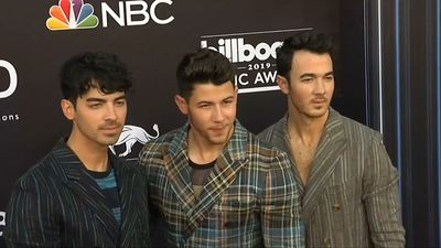 Jonas Brothers debut album 'Happiness Begins' at number one in the U.S.