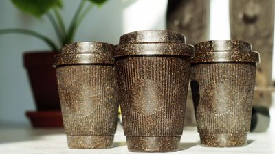 Coffee Cups Made From Recycled Grounds