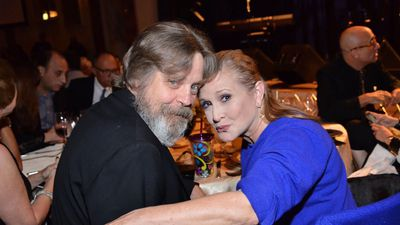 Mark Hamill campaigns for Carrie Fisher's Walk of Fame Star