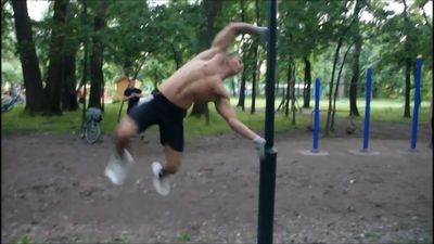 Open air gym goes wrong!