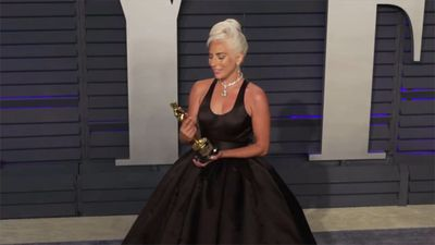 Lady Gaga still can't believe she has an Oscar