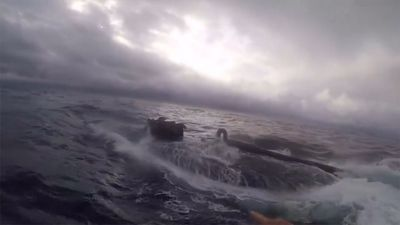 Jaw-Dropping Submarine Boarding By Brave U.S. Coast Guards