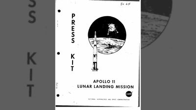 Official NASA Apollo 11 Lunar Landing Press Kit
