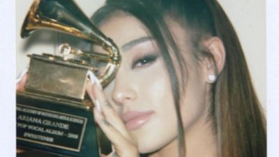 Ariana Grande finally picks up Grammy Award