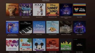 Disney partners with Spotify for Disney Hub