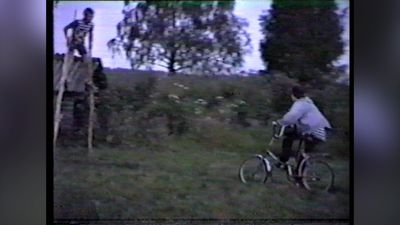 Stunts with bikes