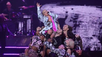Pink enters highest grossing tours top 10 with Beautiful Trauma World Trek