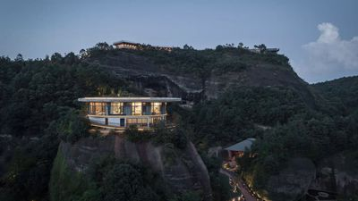 Incredible Cliffside Hotel In China Offers Guests Spellbinding Mountain Views