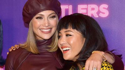 Constance Wu wasn't a dive when Jennifer Lopez was on set with her