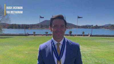 Hugh Jackman honoured with Order of Australia medal