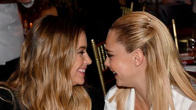 Cara Delevigne has found a new depth of trust with girlfriend Ashley Benson