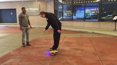 The old man and the hoverboard