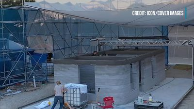 Company Builds 3D-Printed Houses For The Homeless In A New Texas Village