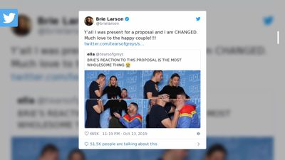 Brie Larson at the centre of Comic Con proposal