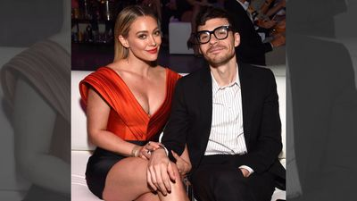 Hilary Duff's fiance sparks secret wedding rumours with 'wife' comment