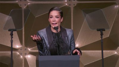 Halsey felt 'defeated' after powerful Women's March speech
