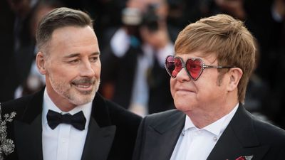 Elton John's husband David Furnish checked into rehab because he couldn't deal with fame