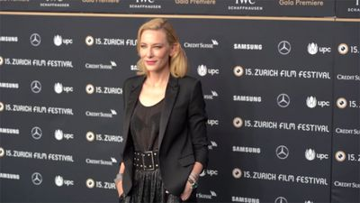 Cate Blanchett thinks fight for gender parity is like Groundhog Day