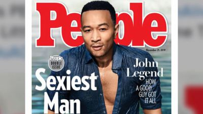 John Legend named People magazine's Sexiest Man Alive