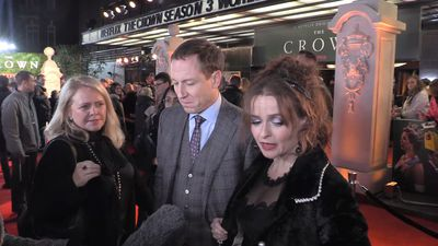Tobias Menzies and Helena Bonham Carter explain the complexity of their characters in 'The Crown'