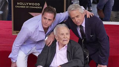 Michael Douglas planning quiet celebration for dad Kirk's 103rd birthday