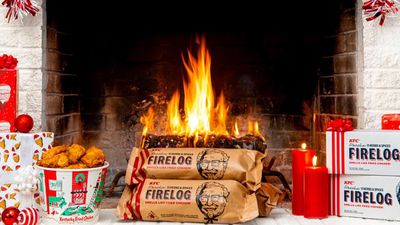 KFC to Bring Back 11 Herbs & Spices Firelog