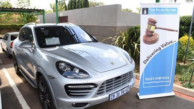 Gavin Watson of Bosasa's Porsche Cayenne sold at auction for R500K