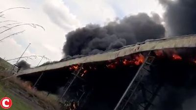 Coal conveyor, silo on fire at Eskom's Majuba power station
