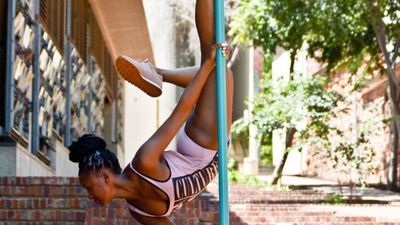 Alternative Fitness: Working the pole