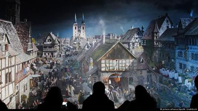 Reformation depicted in a panorama painting