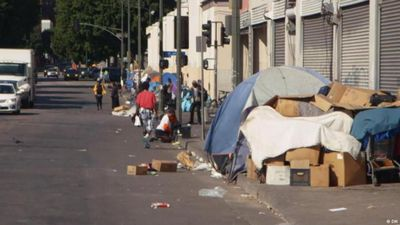 Homeless in the US