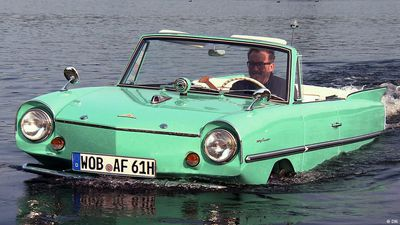 A legend by sea or by land: Amphicar 770